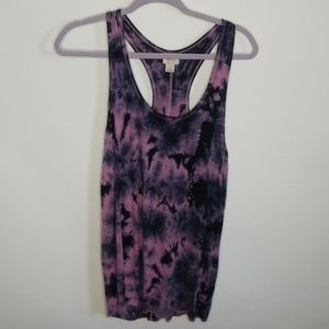 Mossimo th die tank top.size small